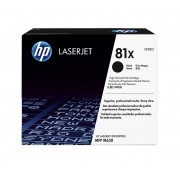 HP 81X High Yield Black Original LaserJet Toner Cartridge (CF281X)
