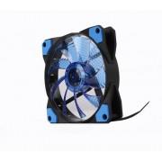 Hladnjak za kućište MARVO LED LIGHT BLUE 120x120x25mm, FN-10