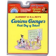 Curious George's First Day of School [With Audio CD], Paperback