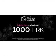 Lijepa.hr E-poklon bon poklon bon 1000 HRK