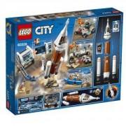 Конструктор Лего Сити - Ракета за открития космос и контрол на изстрелването LEGO City Space Port, 60228