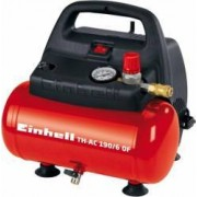 Compresor aer fara ulei Einhell TH-AC 190-6 OF 1100W 8bar 185L-min rezervor 6L