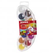 Acuarele 12 culori/set, 25 mm Mini KORES