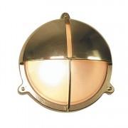 Bullseye wandlamp messing Scheepslamp 22.6 cm