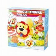 Plastelin set životinje iz džungle, 01250176