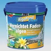 Tratament contra algelor firoase, JBL AlgoPond Direct, 1 kg, pt 30000 L, 2735600