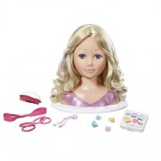 New Zapf Creation - Baby Born Sister Styling Head 13 Accessories