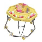 Suraj Baby Steel Pipe yellow Walker for your kids Se-W-24