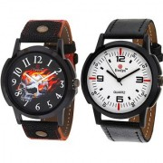Evelyn wrist watch for men combo-EVE-382-377