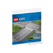 "LEGO City - Intersectie dreapta si in ""T"""