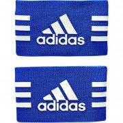 adidas Schienbeinschonerhalter (mit Klett) - blue/white