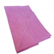 Twotags Microfibre Zip Pocket Large Towel Pink