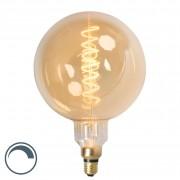Calex Żarówka LED ze spiralnym żarnikiem filamentl MEGA kula E27 240V 4W ściemnialna