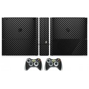 Generic Black Carbon Fiber Vinyl Skin Sticker Protector for Microsoft Xbox 360 E and 2 controller skins Stickers for XBOX360 SLIM E