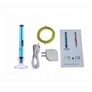 La Impresión 3D De Aluminio Aladdinbox OLED Pen PLA Filamento 3D PINTURA Pen Pen -azul