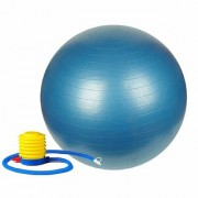 GENERIC Anti-Burst Fitness Exercise Stability Yoga Ball/Gym Ball (65 cm) with Foot Pump (Color May Vary)