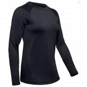 Under Armour - Women's UA Coldgear Armour L/S - T-shirt technique taille L, noir