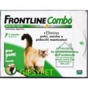 FRONTLINE COMBO GATTO FURETTI SPOT-ON