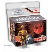 Asmodee Star Wars. Assalto Imperiale. R2-D2 e C-3PO. Gioco da tavolo