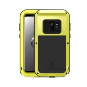 LOVE MEI Shockproof Dropproof Dustproof Protection Case for Samsung Galaxy S9 SM-G960 - Yellow