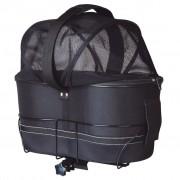 TRIXIE Prepravný box pre psa na bicykel , 29x42x48 cm, čierny, 13118