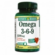 Natures Bounty Omega 3 6 9 30 capsule