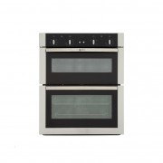 Neff U17M42N5GB Double Built Under Electric Oven - Stainless Steel