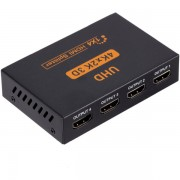 1x4 HDMI Splitter - 4K x 2K Ultra HD - 4 Ports Output