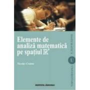 Elemente de analiza matematica pe spatiul R - Nicolae Crainic