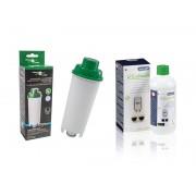 Filter Logic CFL-950B Filtr wody do ekspresów + DeLonghi EcoDecalk Odkamieniacz 500ml