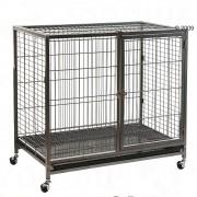 - Tabby L клетка за куче Д 109,5 x Ш 70 x В 87,5 cм