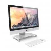 Satechi Aluminium Monitor Stand - настолна алуминиева поставка за монитори, MacBook и лаптопи (сребриста)