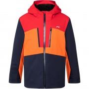Kjus Boys Jacket SNOW ROCK atlanta blue/scarlet