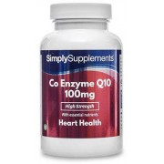 Simply Supplements Co-enzyme-q10-100mg - Small