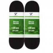 Rucanor Veters kleur veters - Zwart - Size: 120