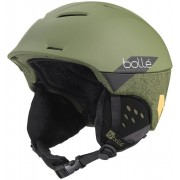 Bollé Synergy Ski Helmet Soft Khaki Slash M 19/20