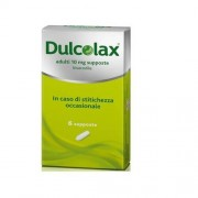 Sanofi Spa Dulcolax Adulti 10 Mg Supposte 6 Supposte