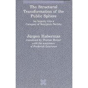 The Structural Transformation of the Public Sphere: An Inquiry Into a Category of Bourgeois Society, Paperback/Jurgen Habermas