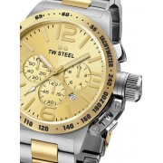 Ceas barbatesc TW-Steel CB53 Canteen Bracelet Cronograf 45mm 10ATM