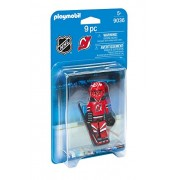 Playmobil Nhl New Jersey Devils Goalie Playset