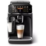 Espressor complet automat Philips EP4341/50, 8 băuturi, 15 bar, 1.8 L, 12 setări de măcinare, LatteGo, Display TFT, Rezervor lapte, Aroma Seal, Negru lucios