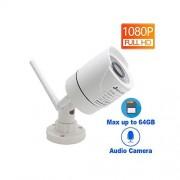 MOVE CC-IP Camera Move CC 1080P Cámara WiFi IP Seguridad Inalámbrica Exterior Impermeable 2.0MP HD Vigilancia Audio IPCam Infrarrojo TF Tarjeta Ranura