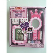 Melissa & Doug Decorate Your Own Wooden Mirror & Frame