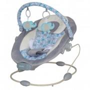 Baby Mix rezgős pihenőszék szürke színben