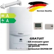 Pachet centrala termica in condensatie VAILLANT ecoTEC pure VUW 286/7-2, 26,1 kW - Incalzire + A.C.M. + termostat Wireless