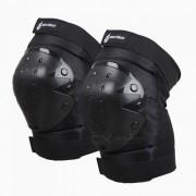 WOSAWE Protector de Rodilla para Motocross - Negro (1 Par)