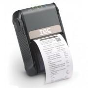 Imprimanta mobila de etichete TSC Alpha-2R, 203DPI, Wi-Fi, USB, neagra