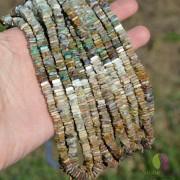 Sirag opal boldier patratele 5-6mm, 40cm