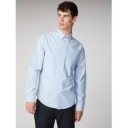 Ben Sherman Main Line Long Sleeve Light Blue Oxford Shirt XS Dusk Blue
