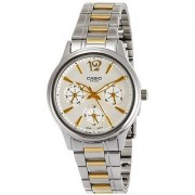 Casio Enticer White Dial Womens Watch - LTP-2085SG-7AVDF (A847)